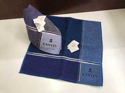 LANVIN on Blue