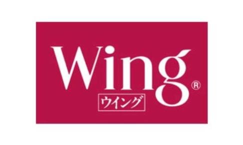 Wing<ウイング>ロゴ