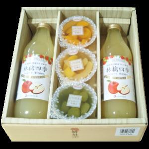 JAつがる弘前のリンゴジュースとスイーツアソート2700円を1350円の50%OFF!