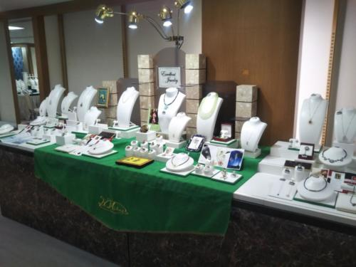 ジュエリーフェア/春の大宝飾展がTWINKLE西沢6階特設会場にて開催中です。売場の様子を写真でご案内します。